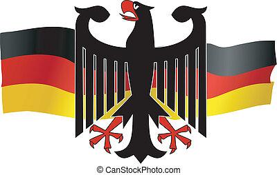 simboli, di, germania