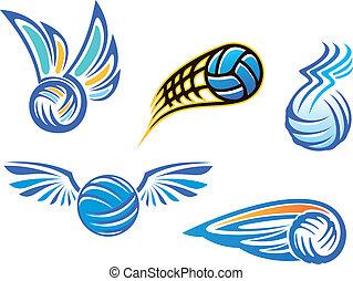 simboli, emblemi, pallavolo