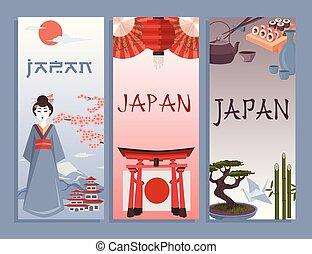 simboli, manifesto, giapponese