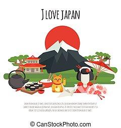 simboli, manifesto, tradizione giapponese