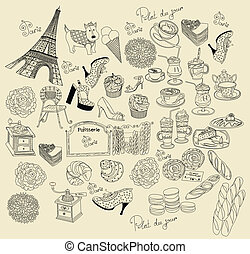 simboli, parigi, collezione