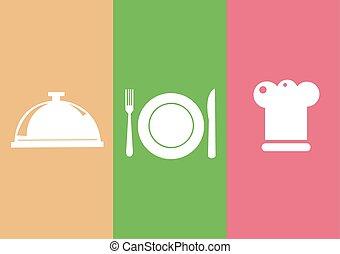 simboli, ristorante