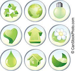 simboli, verde