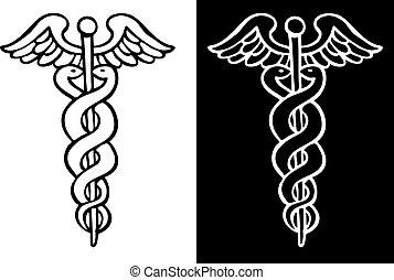 simbolo, caduceo