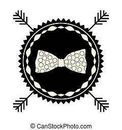simbolo, casato, arco, icona