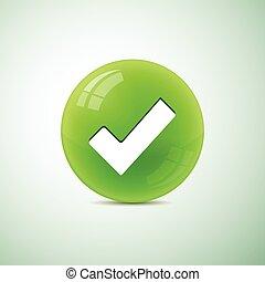simbolo, cerchio, assegno