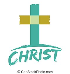 simbolo, cristianesimo, croce, cristo