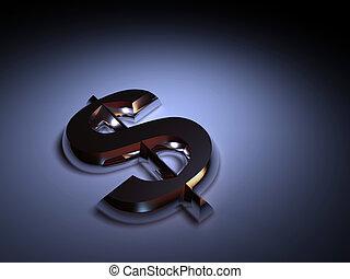 simbolo, dollaro
