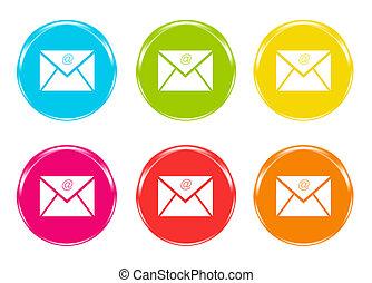simbolo, email, icone