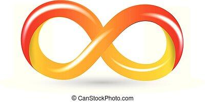 simbolo, infinità