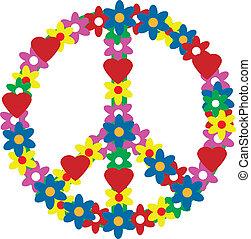simbolo, pace