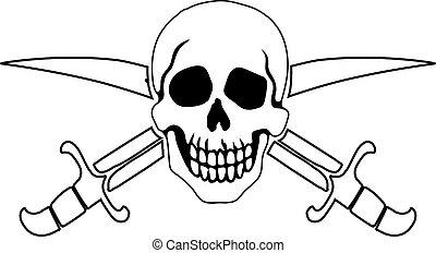 simbolo, roger, pirata, giocondo