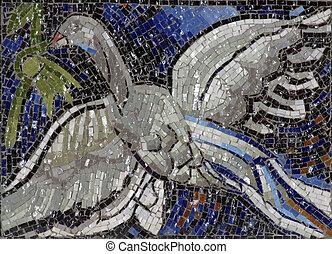simbolo, uccello, spirito santo