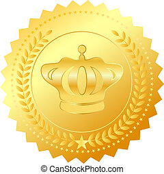 simbolo, vettore, premio
