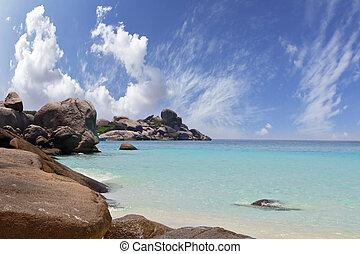 similan, 島, 絵のよう