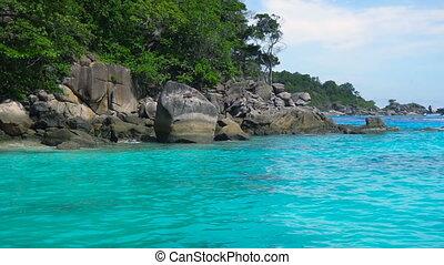 Similan Islands landscape