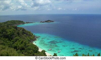 similan islands perfect beach
