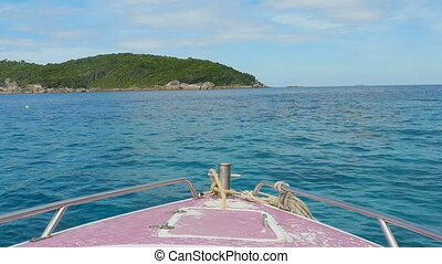 Similan Islands seascape