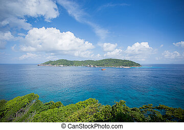 similan - Similan islands in Thailand. The islands is most...