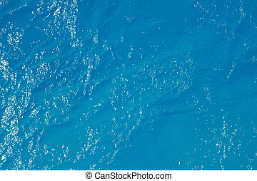 Simmering sea water surface