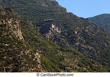 Simonopetra Monastery, Mount Athos, Greece - Simonopetra...