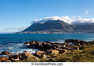 simon's, pueblo, ciudad de cabo, sudáfrica