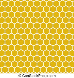Simple Abstract Honeycomb Bee Hive
