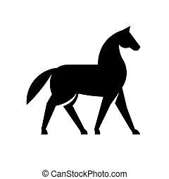 Horse Silhouette Logo