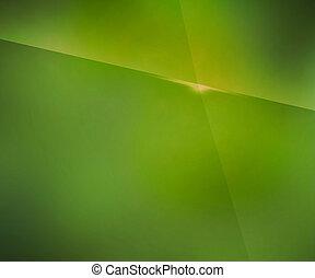 simple, arrière-plan vert, barbouillage