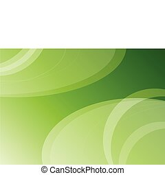 Simple background - Simple green vector background with...