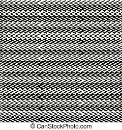 Simple black and white striped seamless ethnic pattern