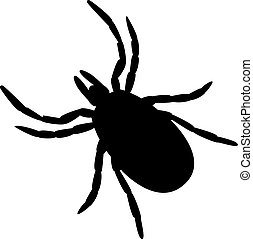 simple black and white tick symbol or icon on white background