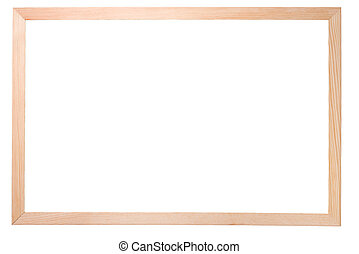 simple, bois, isolé, plaque
