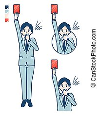simple, businessman_red-card, traje