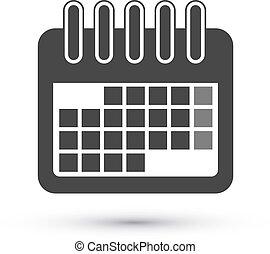 Calendar Icon - Simple Calendar Icon