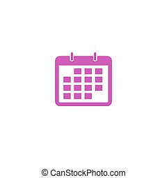 User interface calendar pictogram  schedule ui icon illustration