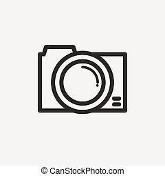 simple camera icon