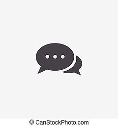 simple chat icon