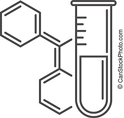 Simple Chemistry Icon