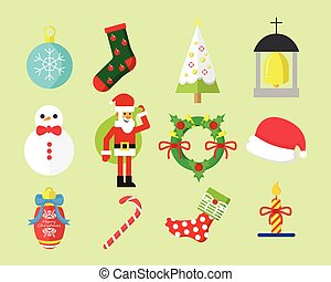 Simple Christmas Vector Graphic Pack