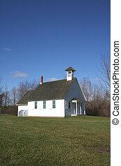 Simple church - Church in a historic greenmaid village of...