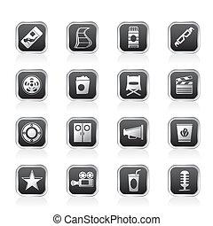 Simple Cinema and Movie Icons