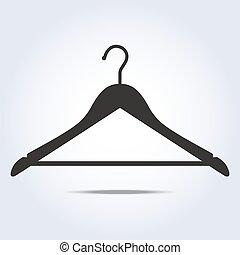 simple, cintre, vecteur, icône