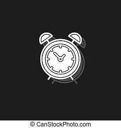 Simple Clock Vector Icon