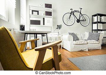 Simple comfortable room