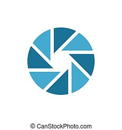 Simple Common Small Circle Aperture Vector Graphic ...