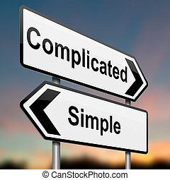 simple., complicado, ou