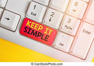 simple., concept, veel, niet, detail., betekenis, begrijpen...