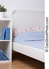 simple, confortable, chambre à coucher