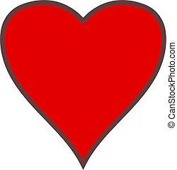 simple, corazón